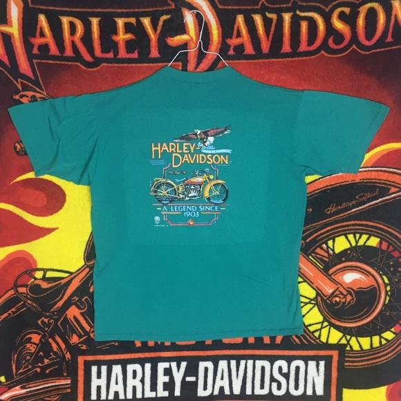 Harley-Davidson Other - Vintage 1988 Harley Davidson 1930 model 74 Shirt